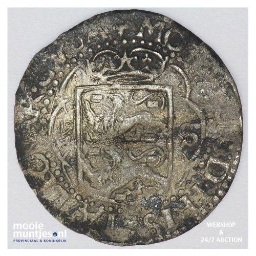 Friesland - Dubbele stuiver - 1652 (kant A)