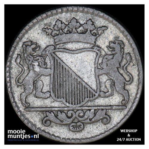 Stad Utrecht - Duit - 1785 (kant B)