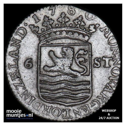 Zeeland - Scheepjesschelling - 1792 (kant A)