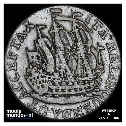 Zeeland - Scheepjesschelling - 1772 (kant B)
