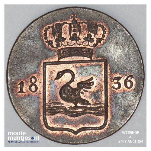 Nederlands-Indië - Duit - 1836 (kant A)