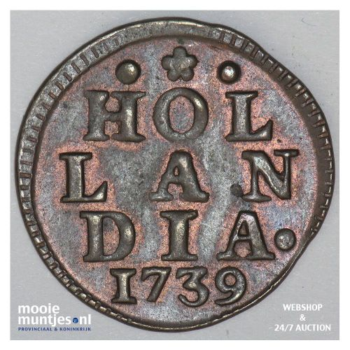 Holland - Duit -  (kant A)