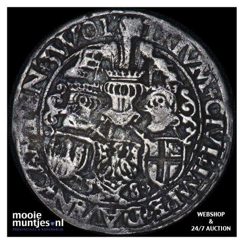 Driesteden - Halve gehelmde rijksdaalder   - 1583 (kant A)