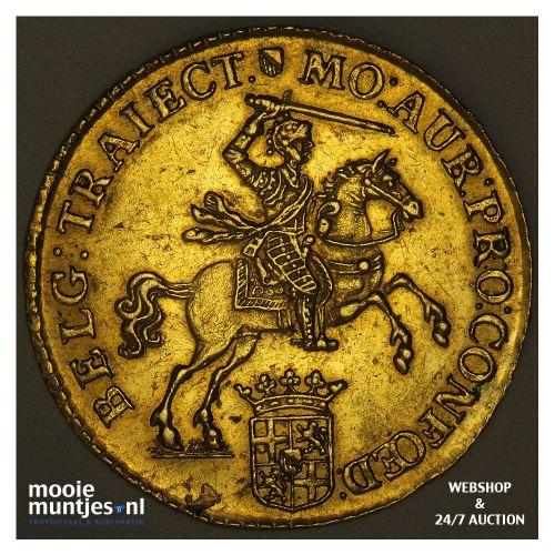 Utrecht - Gouden rijder, nieuw type - 1751 (kant B)