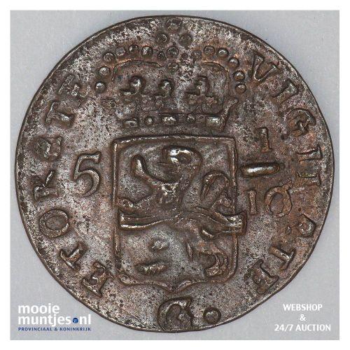 Nederlands-Indië - Duit - 1805 Overijssel (kant B)