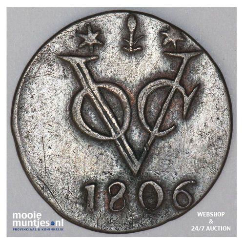 Nederlands-Indië - Duit - 1806 Gelderland (kant A)