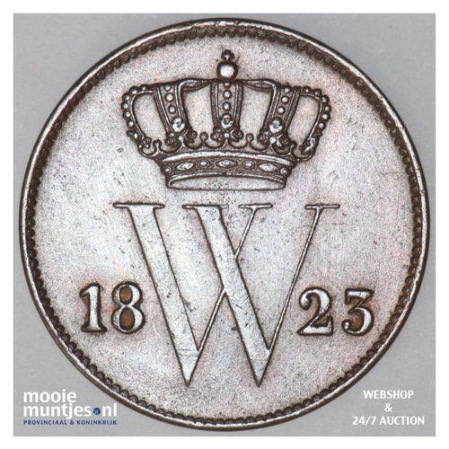 1 cent - Willem I - 1822 Utrecht (kant A)