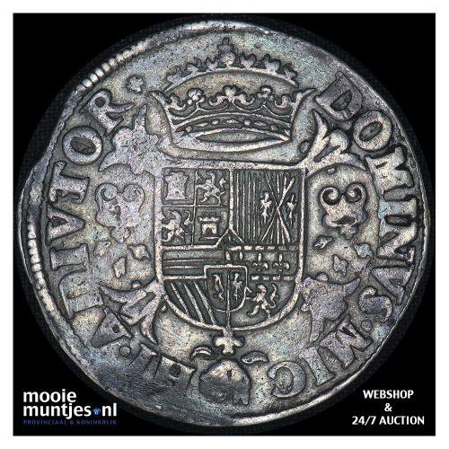 Overijssel - Zilveren dukaat - 1708 (kant B)