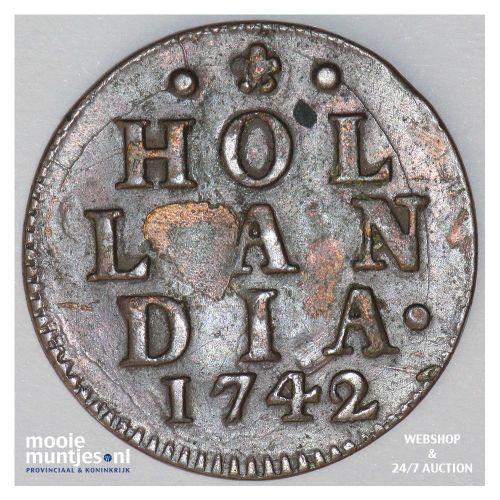 Holland - Duit - 1717 (kant A)
