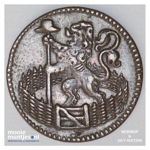 Holland - Duit - 1717 (kant B)
