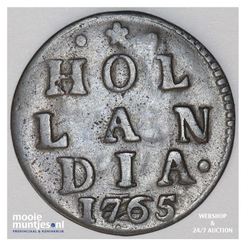 Holland - Duit - 1717 (kant A)