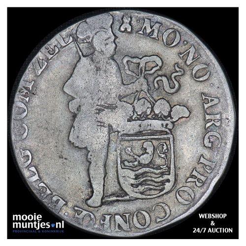 Zeeland - Zilveren dukaat - 1713 (kant B)