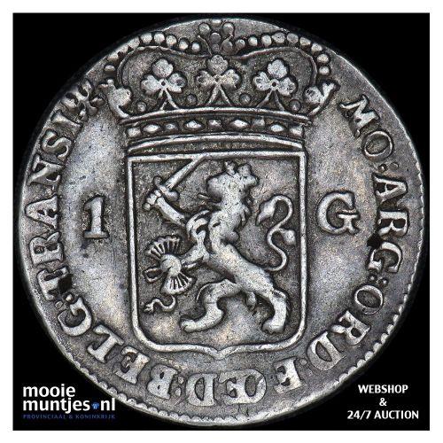 Gelderland - Duit - 1761 (kant B)