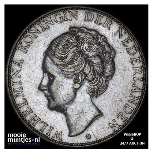 2½ gulden - Wilhelmina - 1940 (kant B)