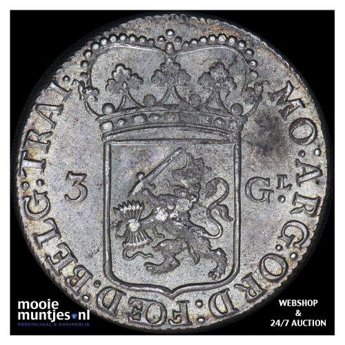 Friesland - Nederlandse tweegulden - 1696 (kant B)