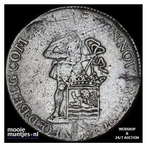 Zeeland - Zilveren dukaat - 1764 (kant B)