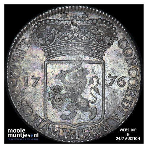 Zeeland - Zilveren dukaat - 1776 (kant A)