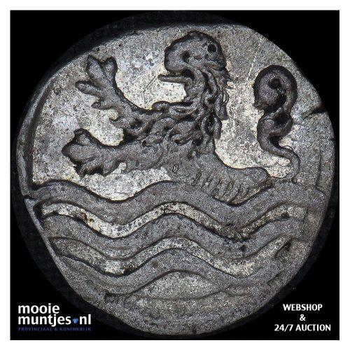 Zeeland - Stuiver - 1681 (kant B)