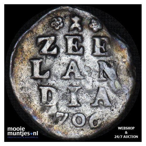 Holland - Pijl- of bezemstuiver - 1740 over 39 (kant A)