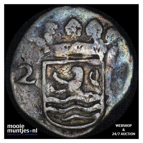 Holland - Pijl- of bezemstuiver - 1740 over 39 (kant B)
