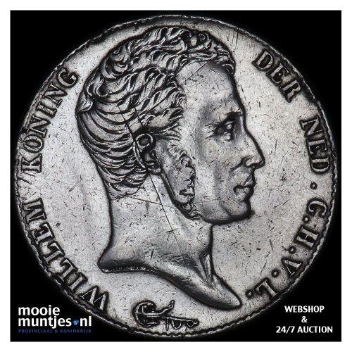 3 gulden - Willem I - 1819 (kant B)
