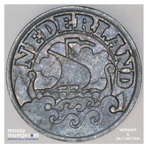 5 cent - Willem III - 1853 (kant B)