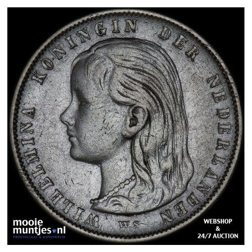 1 gulden - Willem I - 1820 (kant B)