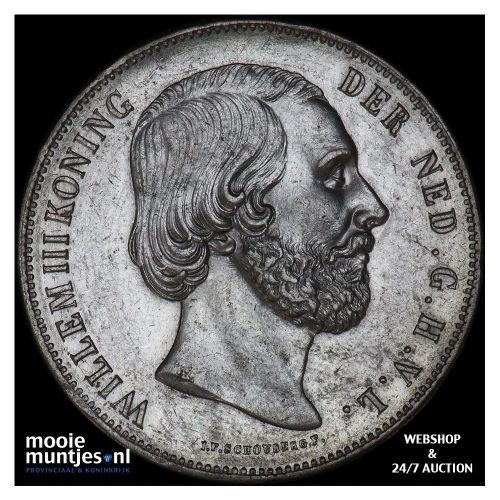 2½ gulden - Willem III - 1872 (kant B)
