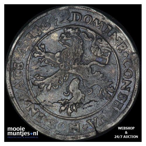 Heerlijkheid Batenburg - Daalder van 30 stuiver - 1564 (kant A)