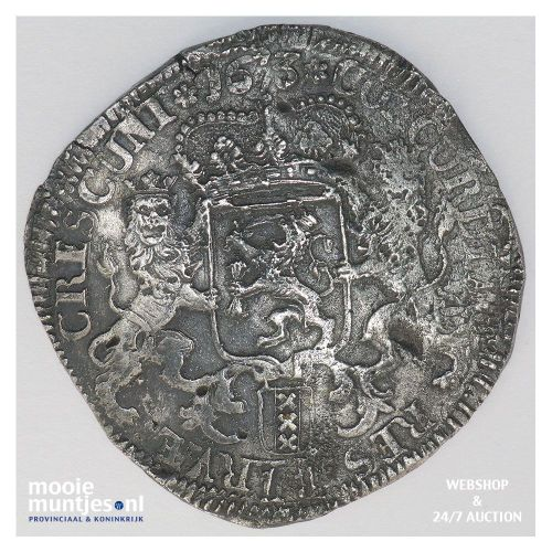 Holland - Zilveren dukaat - 1693 (kant A)