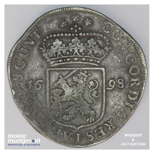 Zeeland - Zilveren dukaat - 1672 (kant A)