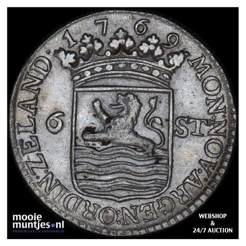 Zeeland - Scheepjesschelling - 1770 (kant A)