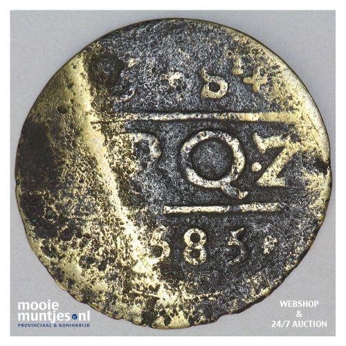 Zierikzee - Drie stuiver - 1585 (kant A)