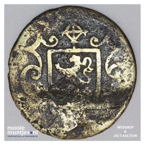 Zierikzee - Drie stuiver - 1585 (kant B)