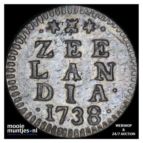 West-Friesland - Stuiver - 1599 (kant A)