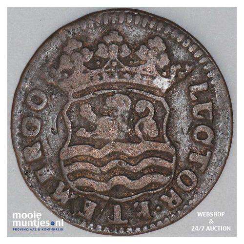 West-Friesland - Stuiver - 1599 (kant B)