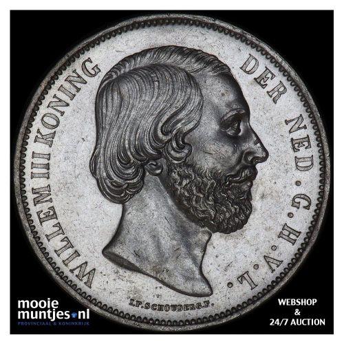 2½ gulden - Willem III - 1868 (kant B)