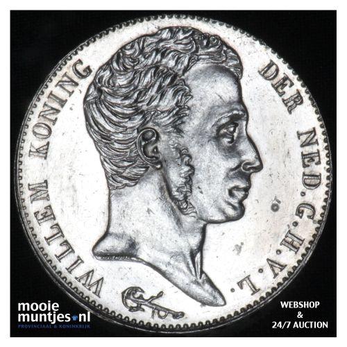 3 gulden - Willem I - 1824  (kant B)