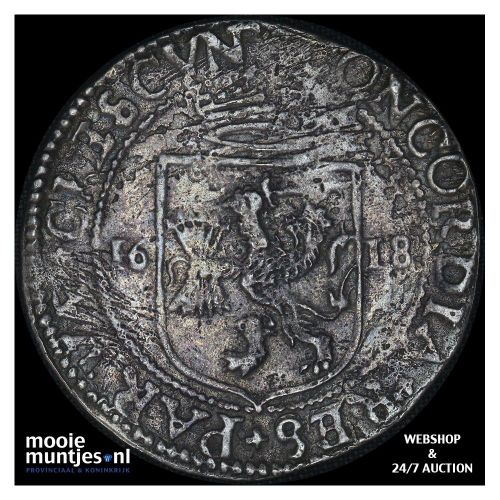 Utrecht - Nederlandse rijksdaalder - 1618 (kant A)