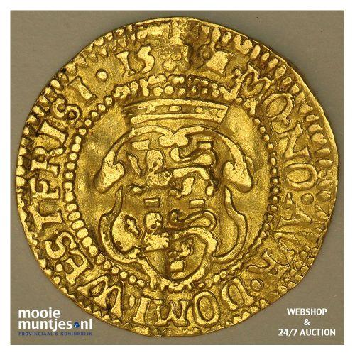 West-Friesland - Hongaarse gouden dukaat - 1591 (kant A)