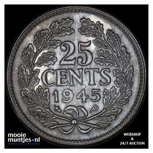 ½ cent - Wilhelmina - 1922 over 21 (kant A)