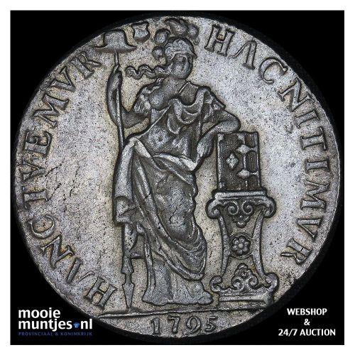 Zeeland - Halve zilveren rijder of halve dukaton - 1792 (kant A)