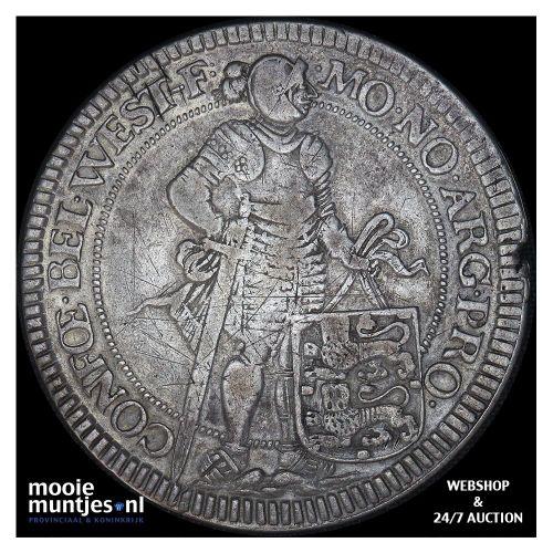Holland - Zilveren rijder of dukaton - 1784 (kant B)