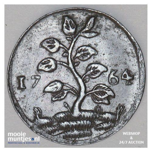 3 gulden - Willem I - 1824 c (streepje) (kant A)