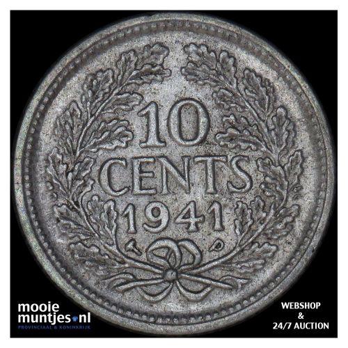 10 cent - Wilhelmina - 1904 (kant A)