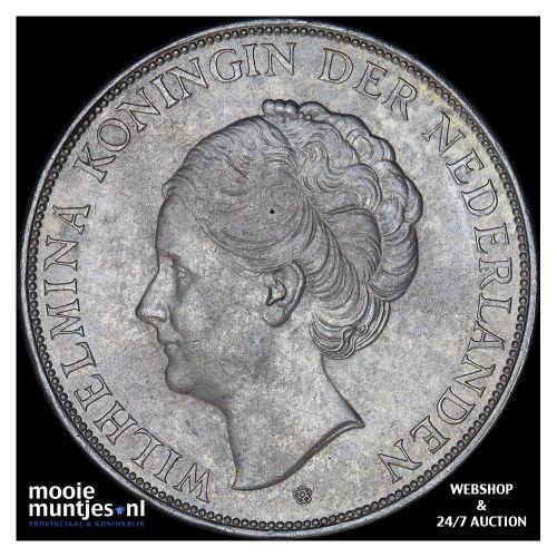 2½ gulden - Wilhelmina - 1931 (kant B)