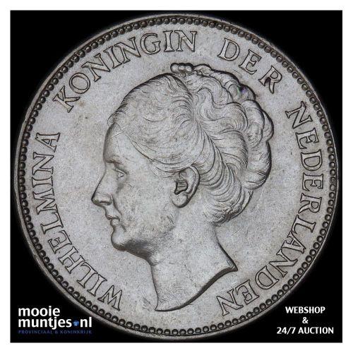 1 gulden - Wilhelmina - 1922 (kant B)