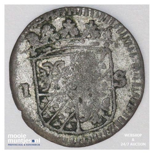 Groningen - Rijderschelling - 1691 (kant B)
