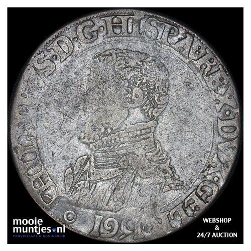 Gelderland - Leeuwendaalder - 1589 (kant A)