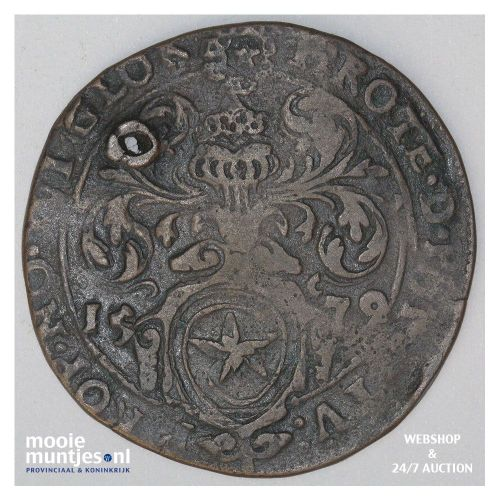 Maastricht stad - 16 stuiver - 1579 (kant A)